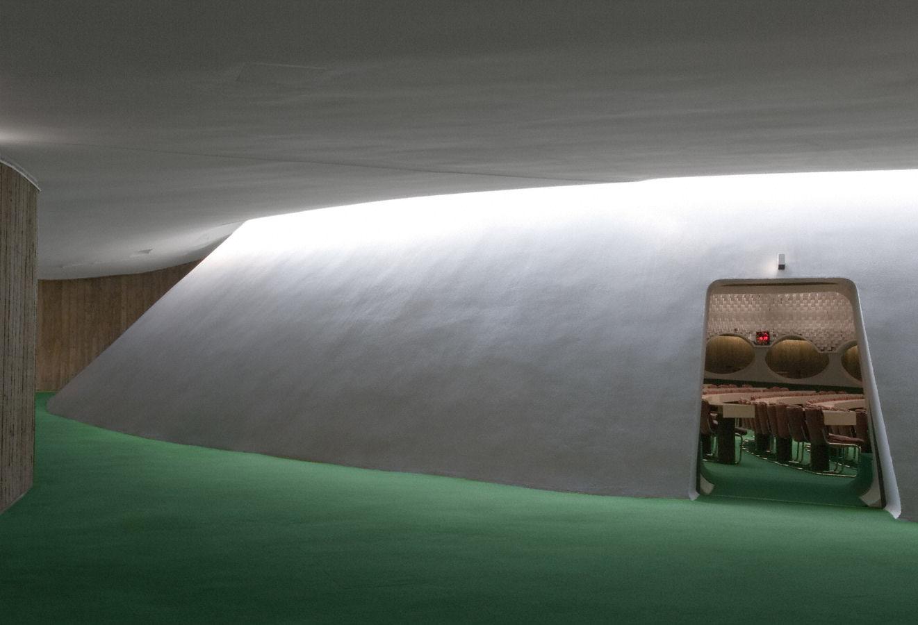 parti communiste français - architect: Oscar Niemeyer